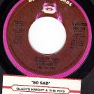 BUDDAH 544 GLADYS KNIGHT and the PIPS ~ So Sad The Song