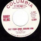 NM DJ COLUMBIA 4-43031 BOBBY HELMS Put Your Arms Around