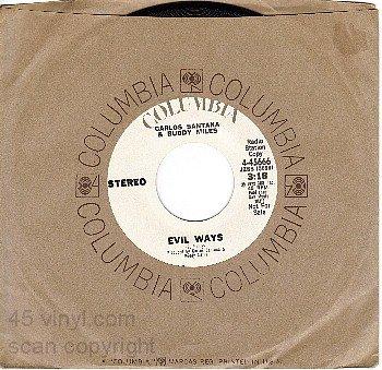 NM COLUMBIA 4-45666 DJ CARLOS SANTANA/BUDDY MILES Evil