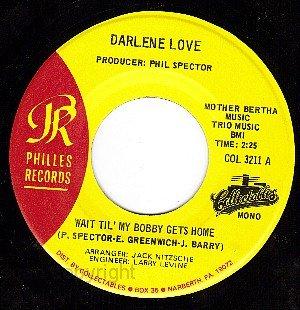 PHILLES 3211 DARLENE LOVE ~ Wait Til My Bobby Gets Home