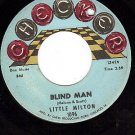 CHECKER 1096 LITTLE MILTON Blind Man/Blues In The Night