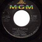 MGM 13462 HERMAN'S HERMITS Listen People/Got A Feeling