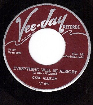 NM VEEJAY 299 GENE ALLISON - Everything Will Be Alright