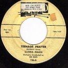 SOUND 126 45 GLORIA MANN ~ Teenage Prayer ~ Gypsy Lady