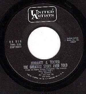 UA 816 FERRANTE & TEICHER The Greatest Story Ever Told