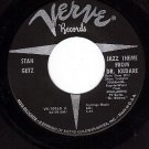 VERVE 10260 45 rpm STAN GETZ Jazz Theme From Dr Kildare