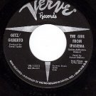 VERVE 10323 STAN GETZ Girl From Ipanema ~ Blowin In The