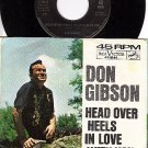 NM RCA 47-8144 PS+45 DON GIBSON Head Over Heels In Love