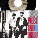 NM EMI 8307 PET SHOP BOYS West End Girls/Man Could Get