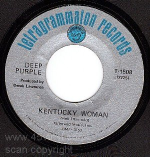 TETRAGRAMMATON DEEP PURPLE 1508 Kentucky Woman ~ Road