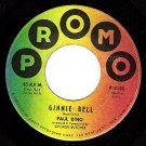 PROMO 45 PAUL DINO 2180 ~ Ginnie Bell ~ Bye-Bye