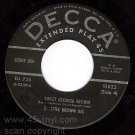 DECCA EP LENNY DEE 91523 (1 Record Only + PS SIDE 3&4)
