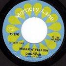 NM MEMORY LANE 15-2251 DONOVAN Mellow Yellow ~ Superman