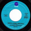 NM FANTASY 637 CREEDENCE REVIVAL ~ Who'll Stop The Rain
