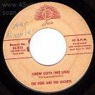 JOSIE DEBS AND THE ESCORTS 833 Crew Cuts ~ Swingin Sam