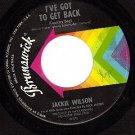 BRUNSWICK 55289 JACKIE WILSON I've Got To Get Back/Days