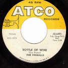 ATCO 6491 FIREBALLS Bottle Of Wine/Cant You See I'm Try