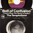GORDY 7099 45 + PS TEMPTATIONS Ball Of Confusion/Summer