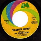 UNI 55137 FOUNDATIONS Soloman Grundy ~ Little Chickadee