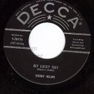 DECCA 9-30976 45 BOBBY HELMS My Lucky Day ~ Hurry Baby