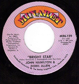 MINARET 159 JOHNHAMILTON/DORIS ALLEN Bright Star ~ Them