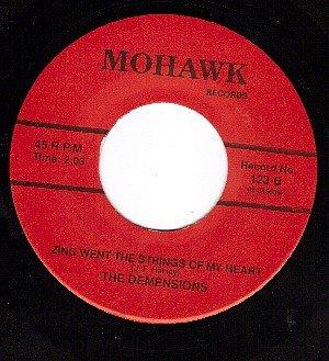 NM MOHAWK 123 DEMENSIONS A Tear Fell/Zing Went Strings