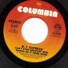COLUMBIA 3-10346 B.T.EXPRESS ~ Cant Stop Groovin Now