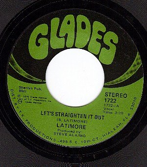 GLADES 1722 LATIMORE Lets Straighten It Out/Aint Nobody