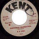 KENT 412 45 PROMO B.B.KING Christmas Celebration ~ Easy