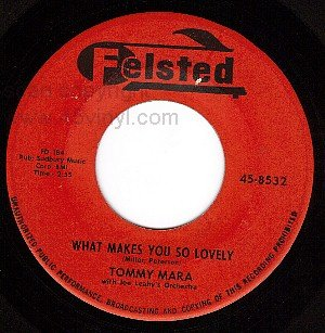FELSTED 45 8532 TOMMY MARA What Makes You So Lovely