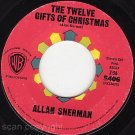 45 ALLAN SHERMAN The Twelve Gifts Of Christmas/St Louis