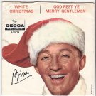 PICTURE SLEEVE Bing Crosby WHITE CHRISTMAS/GOD REST YE