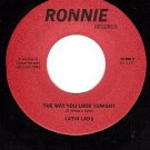 NM RONNIE 206 LATIN LADS The Way You Look Tonight/Love