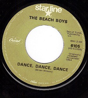 NM CAPITOL 6105 THE BEACH BOYS Dance/Warmth Of The Sun