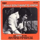 NM RCA 47-9960 PS ELVIS PRESLEY I Really Don't Want To