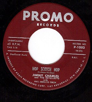 PROMO 1002 JIMMY CHARLES Million To One/Hop Scotch Hop