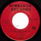 NM SUBBARAO 489 SLY STONE Oh What A Night/Forgotten Me