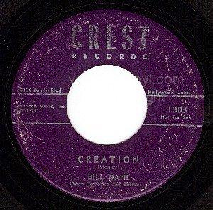 CREST 45 BILL DANE 1003 Creation ~ God Speaks