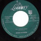 LIBERTY 55102 MARGIE RAYBURN I'm Available/If You Were
