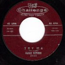 CHALLENGE 59100 45 MARGIE RAYBURN Try Me/I've Tried So