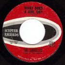 SCEPTER 1259 SHIRELLES What Does A Girl Do/Dont Let It