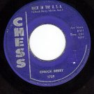 CHESS 1729 CHUCK BERRY Back In The USA/Memphis Tennesse
