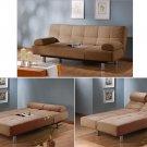 ''Aruba'' modern sofa bed khaki