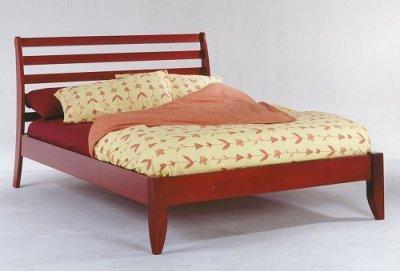 Coronado (Teak) platform bed full