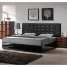 Brenda Modern 5pcs Bedroom Set w/ Diamond Styled Buttons
