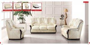 Classic Italian Leather Living Room Set
