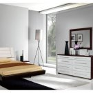 Dual Colored Modern Bedroom Set Roma