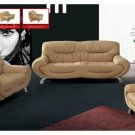 Genuine Leather Modern Living Room Set Massima