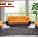 Modern Two Colors Composition Living Room Set Sofa/Sleeper