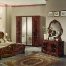 Vittoria Italy Made Traditional Bedroom Set